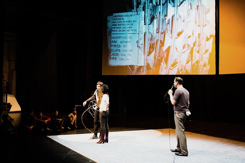 KRASS Festival 2016 Kwiskotheka Teil 2 Branko Šimić / Martina Stoian / Nikola Duric: I was a Refugee