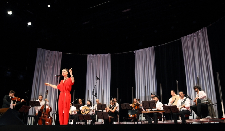 Krass Festival 2018_Orchestra for Middle Eastern Music with Ruth Rosenfeld_Foto Dorothea Tuch_#01