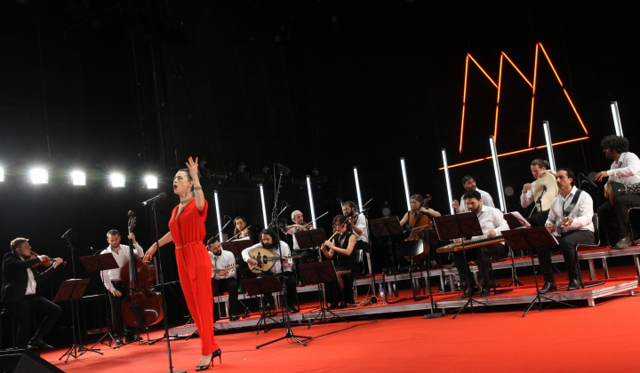 Krass Festival 2018_Orchestra for Middle Eastern Music with Ruth Rosenfeld_Foto Dorothea Tuch_#02