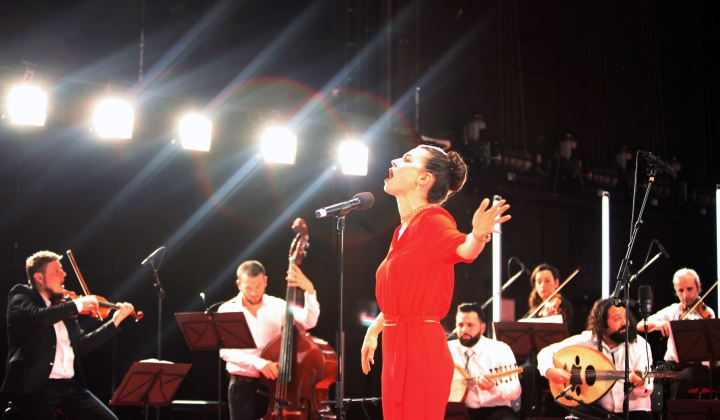 Krass Festival 2018_Orchestra for Middle Eastern Music with Ruth Rosenfeld_Foto Dorothea Tuch_#03